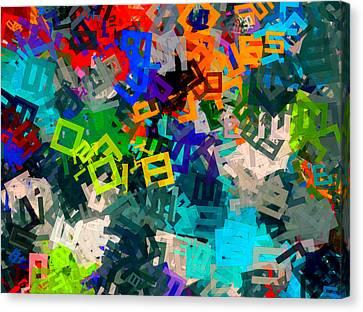 A--hole Canvas Print