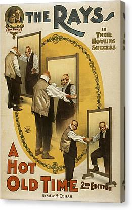 A Hot Old Time Canvas Print