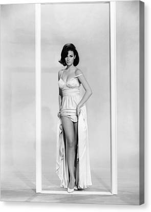 1960s Hairstyles Canvas Print - A House Is Not A Home, Raquel Welch by Everett