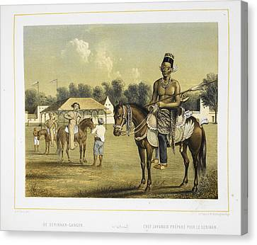 A Javanese Chief Canvas Print by British Library