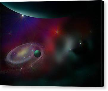 A Journey Through Time Canvas Print by Ricky Haug
