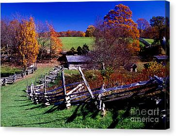A Kentucky Mountain Homestead Canvas Print by Paul W Faust -  Impressions of Light
