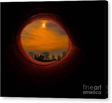 A Light At The End Of The Tunnel Canvas Print by Gerlinde Keating - Galleria GK Keating Associates Inc