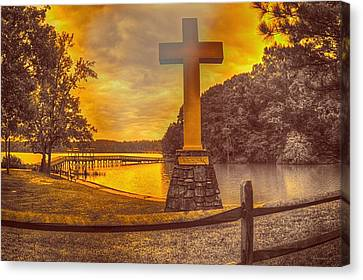 Canvas Print featuring the photograph A Light Unto The World by Dennis Baswell