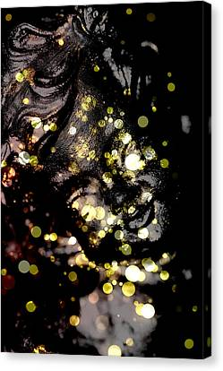 A Little Angel Statue  Canvas Print by Tommytechno Sweden