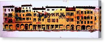 A Little Bit Of Bologna Canvas Print by William Renzulli