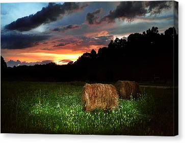 A Little Country Canvas Print by Adam LeCroy