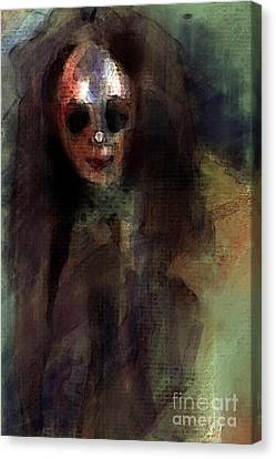 A Little Creepy Canvas Print by Thomas Zuber