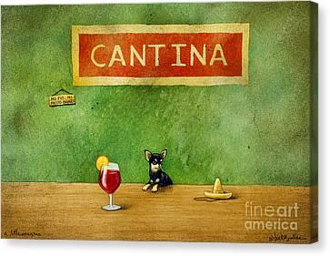 a little Sangria... Canvas Print