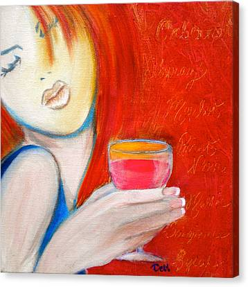 Debi Pople Canvas Print - A Little Tart by Debi Starr