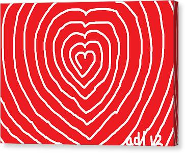 A Love That Is Without Limits Canvas Print by Anita Dale Livaditis