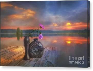A Lovely Morning Canvas Print by Veikko Suikkanen