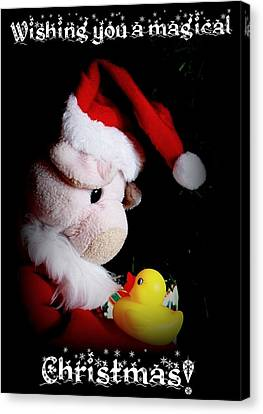 A Magical Christmas Canvas Print by Piggy