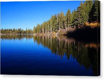 A Mammoth Lake Canvas Print by Julia Ivanovna Willhite