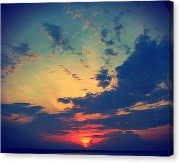 Canvas Print featuring the photograph A Marvelous View by Joetta Beauford