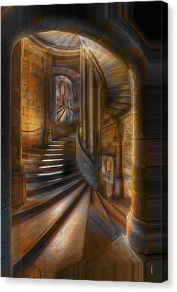A Maze In Canvas Print by  Fli Art