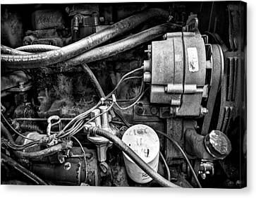 A Mechanic's View Canvas Print by Jeff Burton