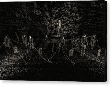 A Meeting Of Souls Canvas Print by CJ Schmit