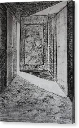 A Memory 3 Canvas Print by Roger Cummiskey