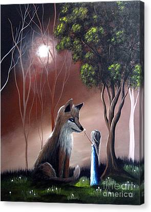 A Midnight Moment By Shawna Erback Canvas Print by Shawna Erback