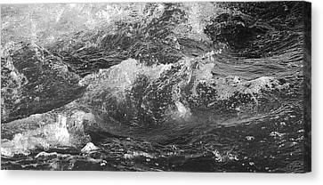 A Mighty Force Canvas Print by Bruce Bley