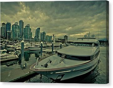 A Million Dollar Ride Yacht  Canvas Print by Eti Reid