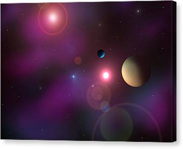 A Million Light Years Canvas Print by Ricky Haug