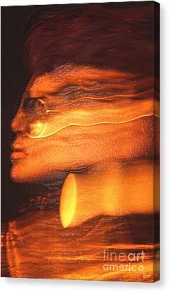 A Modern Woman Canvas Print by Jeff Breiman