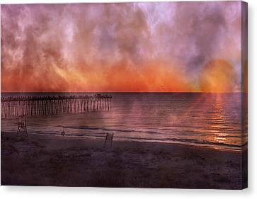 Pleasure Canvas Print - A Moment Inspired Together by Betsy Knapp