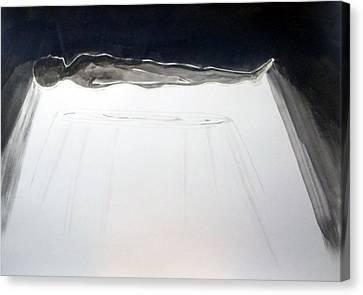 A Momentary Lapse Of Reason Canvas Print by Lazaro Hurtado