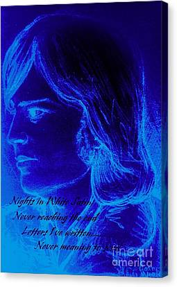 A Moody Blue Canvas Print