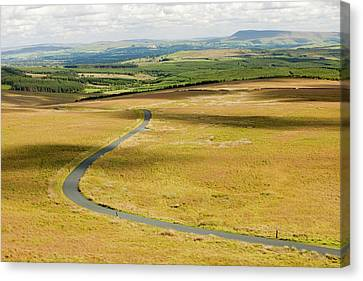 A Moorland Road Canvas Print by Ashley Cooper