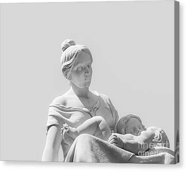 A Mother's Love Canvas Print by Christina Klausen