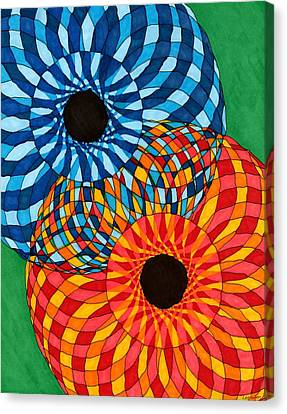 A Mother's Quilt Canvas Print