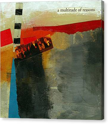 A Multitude Of Reasons Canvas Print by Jane Davies