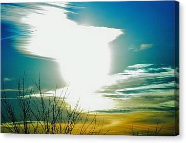 A Myriad Twilight Canvas Print by Luke Jones
