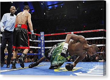 Knockout Canvas Print - A Nano Second Before Canvas by Anthony Morretta