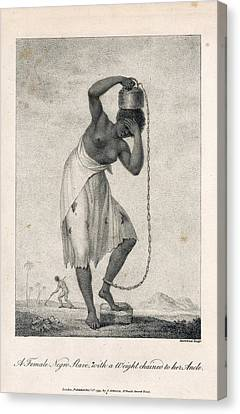 A Negro Slave Canvas Print by British Library