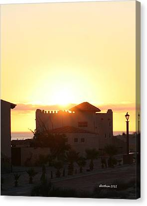 Canvas Print featuring the photograph A New Day by Dick Botkin