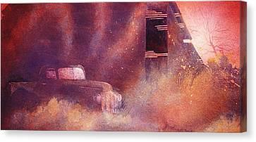 A New Day Canvas Print by John  Svenson