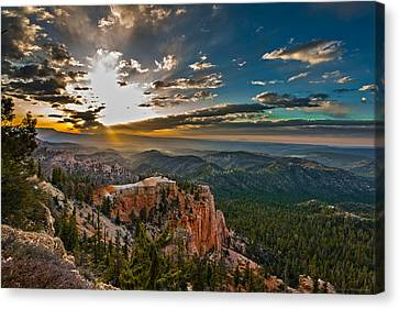 A New Day Canvas Print by Phil Abrams