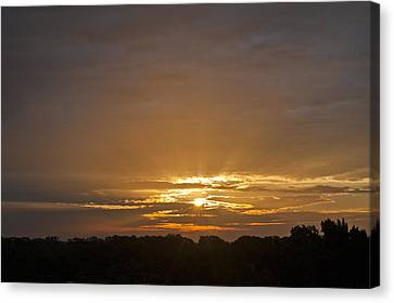 A New Day - Sunrise In Texas Canvas Print