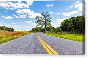 A New Melle Drive Canvas Print by Bill Tiepelman