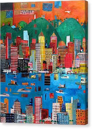 Hong Kong Canvas Print - A Nice Day by Francesco Lietti