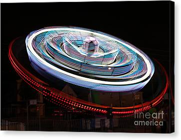 A Night At The Exhibition Canvas Print by Tabitha Godin