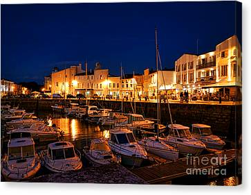 A Night In Saint Martin Canvas Print by Olivier Le Queinec