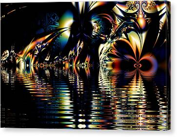 A Night On The Water Canvas Print