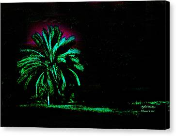 A Night Personality Canvas Print