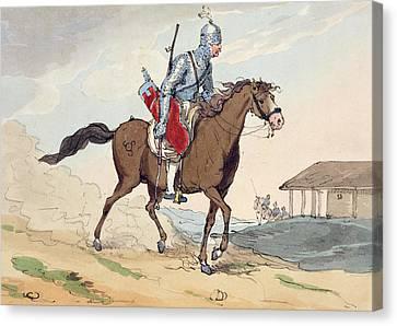 A Noble Tcherkesse Canvas Print