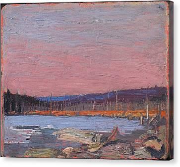 A Northern Lake Canvas Print